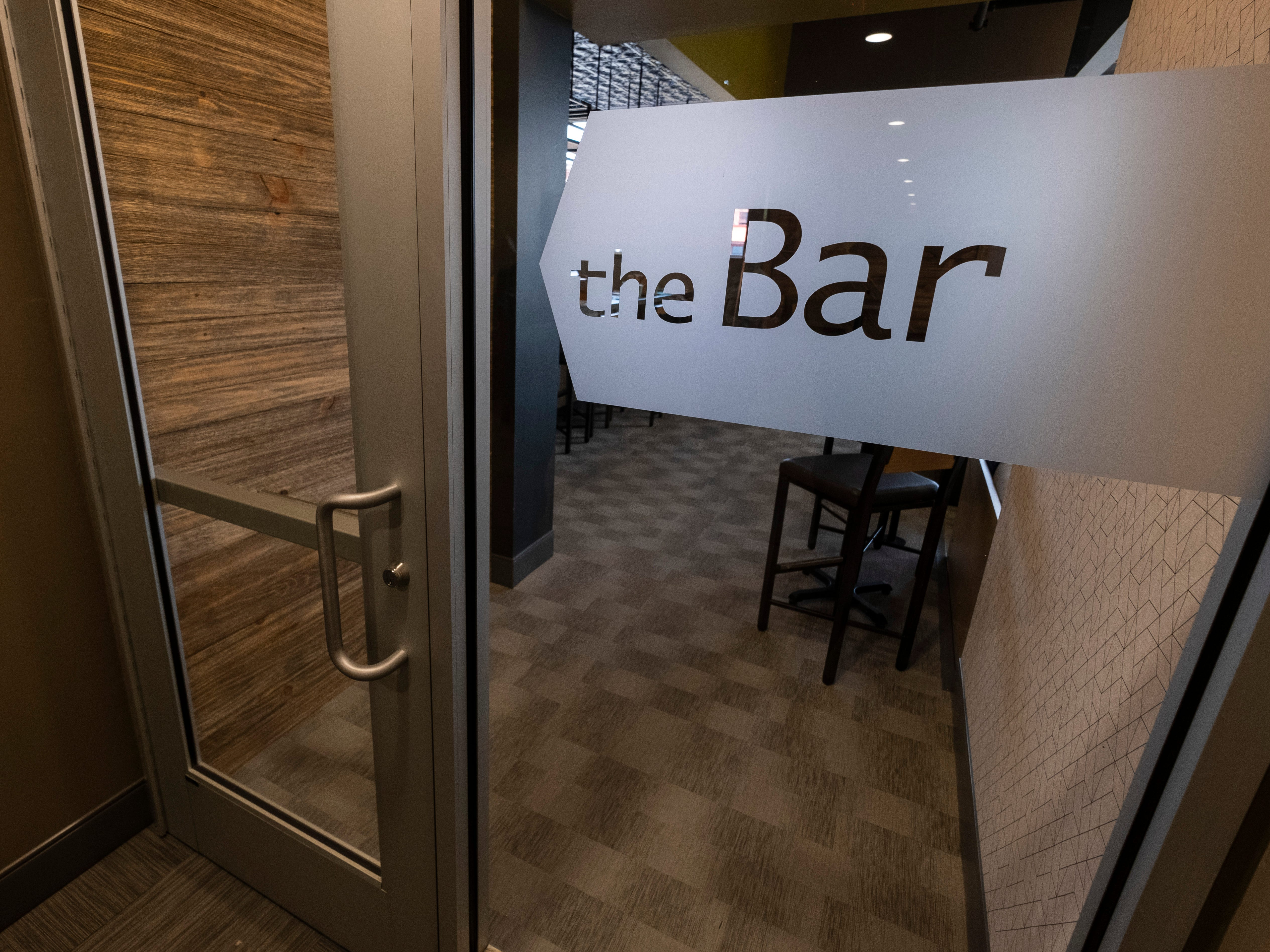 Developers plan to have TheBar in the CityFlats Hotel open soon, once they receive a liquor license.