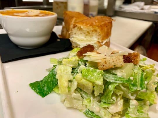 A sandwich, salad and soup from Bistro 71 as photographed the morning of Wednesday, April 18. The Chambersburg restaurant is undergoing some changes, including Jacob Vorhees taking over as its new executive chef about a month ago for his uncle, Scott Vorhees, who previously held the position.