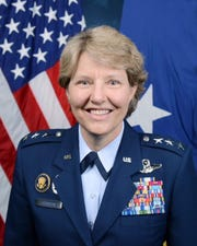 Retired Air Force Lt. Gen. Michelle Johnson will give the May 18, 2019 spring commencement address at York College.