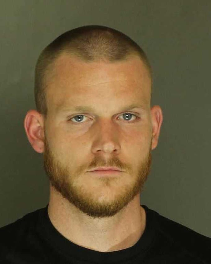 Matthew Toft, arrested for disorderly conduct, harassment and public drunkenness.
