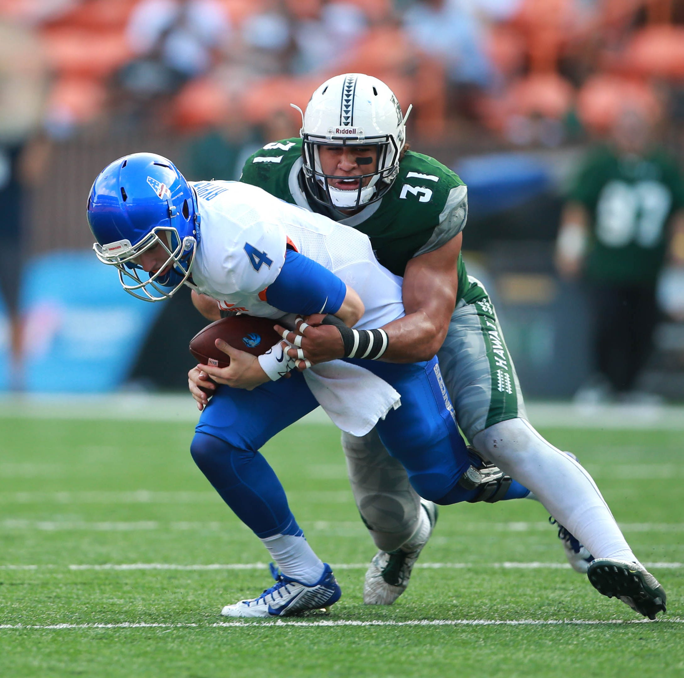 Detroit Lions take Hawaii LB Jahlani Tavai in Round 2 of 2019 NFL draft