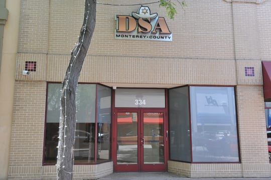 The storefront of the Monterey County Deputy Sheriff's Association in Salinas.