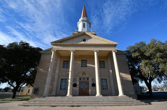 The congregation of Immanuel Baptist Church was formed in San Angelo on July 10, 1910.