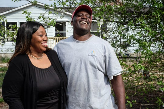 Lillian Harrison-Brown founded Elevated Community Development Corporation, a nonprofit that hires ex-offenders and provides a support system for them, one month after marrying her husband James Brown, who spent 30 years behind bars.