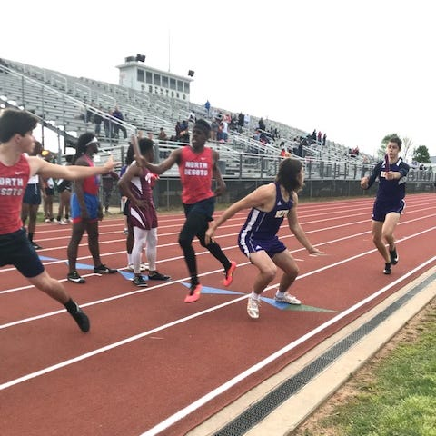 Benton sweeps District-1-4A track and field meets