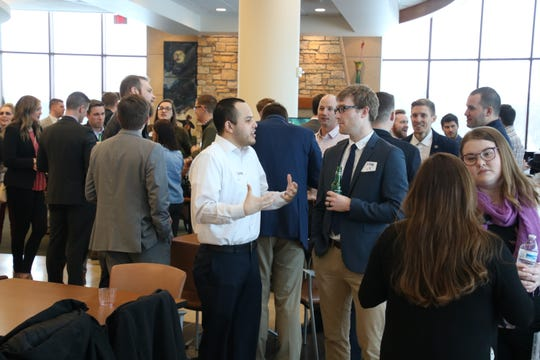 A recent Sioux Falls Young Professionals Network Off the Clock event held at Avera Prairie Center in Sioux Falls.
