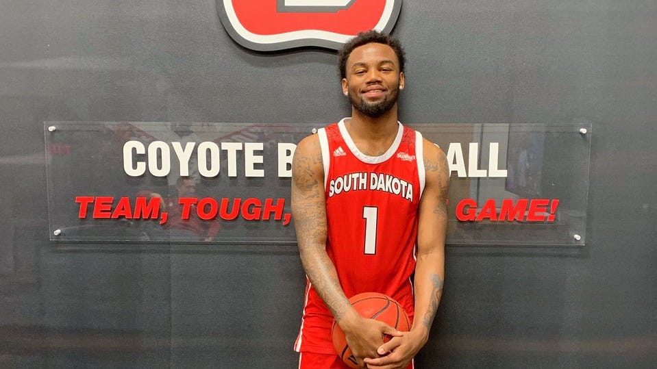 New USD guard Ty Chisom