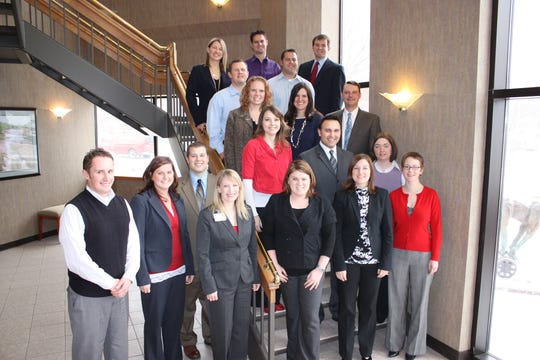 The founding members of the Sioux Falls Young Professionals Network in 2009.