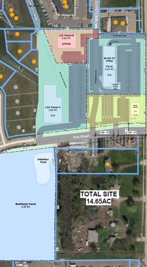 The owner of Landscape Garden Center wants to redevelop land near 81st Street and Minnesota Avenue that including new store facilities, a bank and a retail center. A multi-family housing project could also happen in the area when the owner is ready to develop.