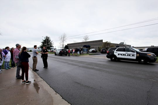 Police are investigating after an armed man allegedly entered a west Springfield business and threatened its employees.