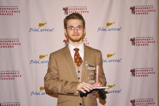 Seth Cote was named Youth Leader of the Year. Cote builds ramps, handrails and walker steps so people with disabilities can gain access in and out of their home.