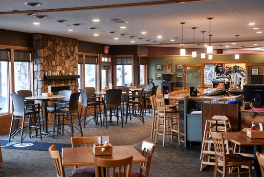 Grill19 at Blackberry Ridge Golf Club is pictured Wednesday, April 17, in Sartell.