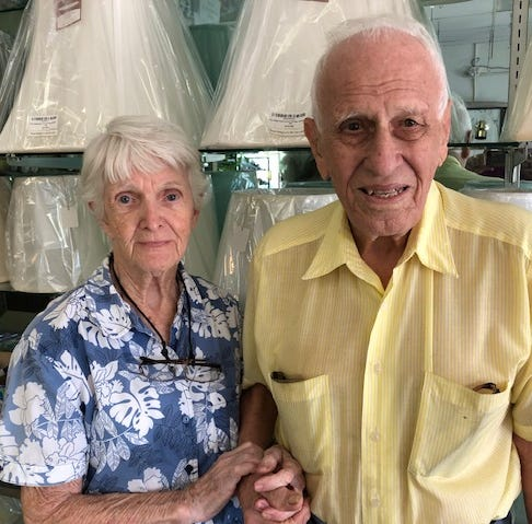 Albert and Donna LaBonte, Vero Beach business owners for decades, tried retiring before and it didn't work