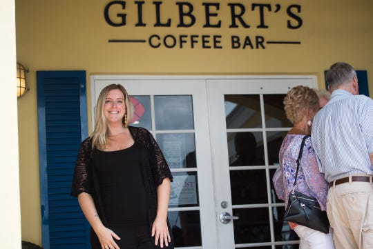 "Gilbert's Coffee Bar, seen at their location overlooking the south fork of the St. Lucie River in Stuart on Thursday, April 18, 2019, was designated as ""ocean friendly"" by the Surfrider Foundation for their commitment to reducing plastic waste and eliminating use of expanded polystyrene (EPS) foam."