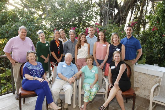 Treasure Coast 2019 Great Strides supporters at the March 14 Kick-Off Party. This year's walk will be April 26 at Indian Riverside Park, Jensen Beach.
