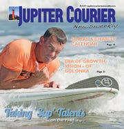 Jupiter Courier Newsweekly cover from Dec. 3, 2015.