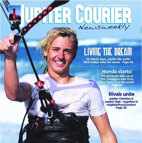 Guest Column: Grateful to Jupiter Courier Newsweekly for allowing me to chase my dream