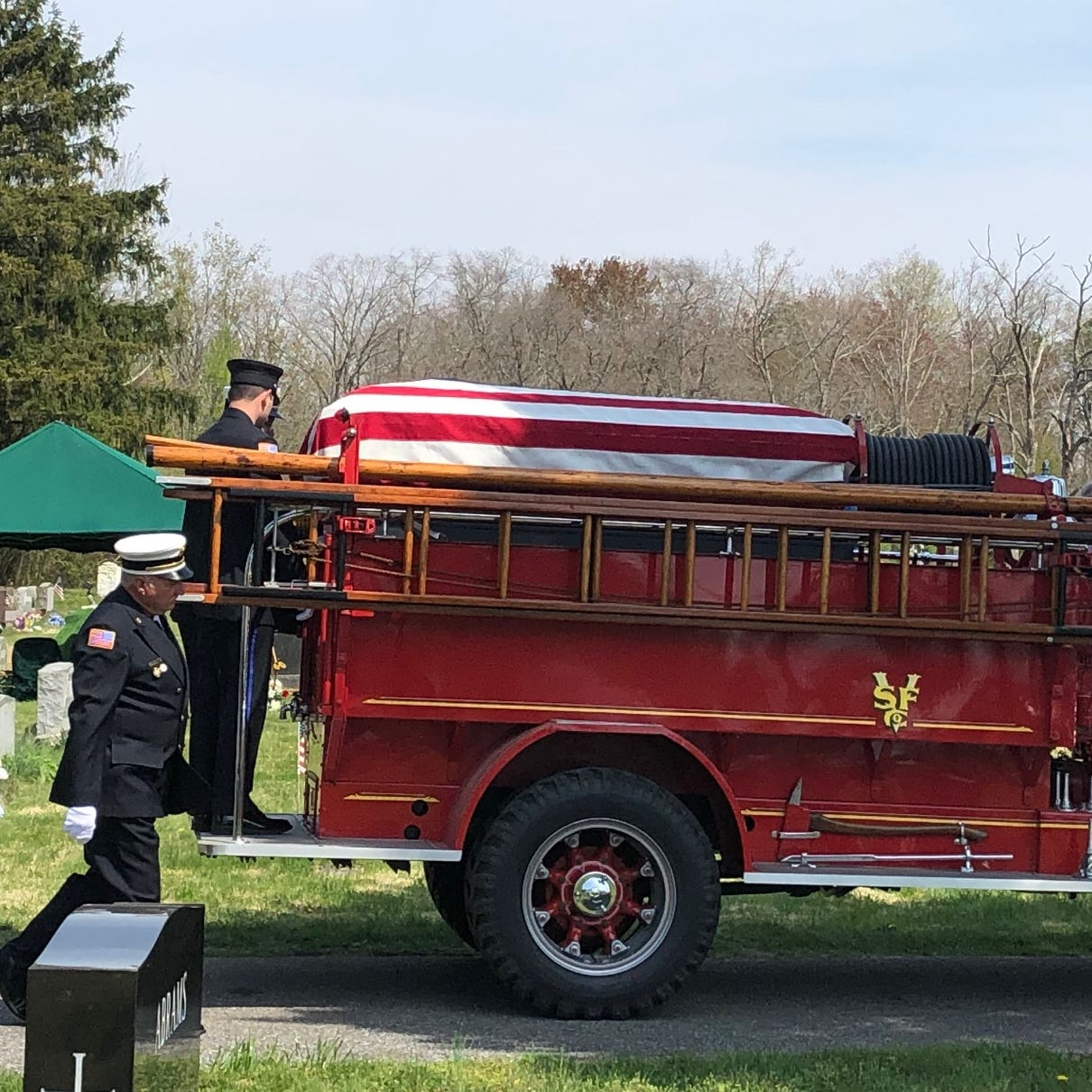 Last alarm for retired Vineland Co. 2 Fire Chief Joseph Letizia