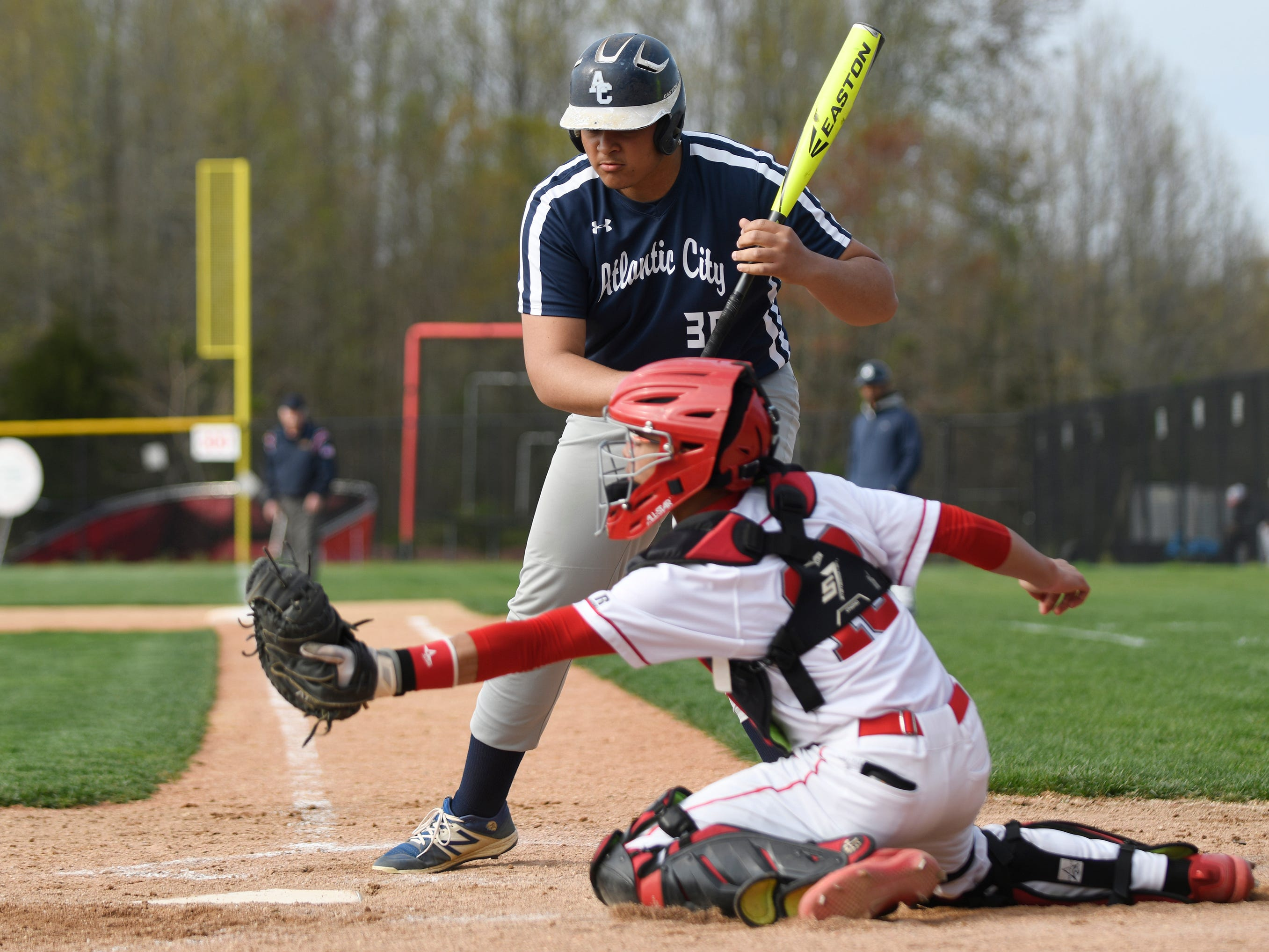 The Vineland High School baseball team hosted Atlantic City on Wednesday. The Fighting Clan topped the Vikings 12-2. 4/17/19