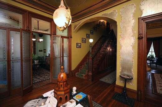 World's only domed octagonal house in Irvington open for tours