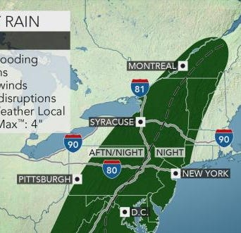 Delaware may be in for more severe weather as thunderstorms roll in this weekend