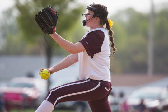 Pitcher Savannah Sheats is among the top players for Caravel (12-5), which earned the No. 1 seed in the DIAA Softball Tournament.