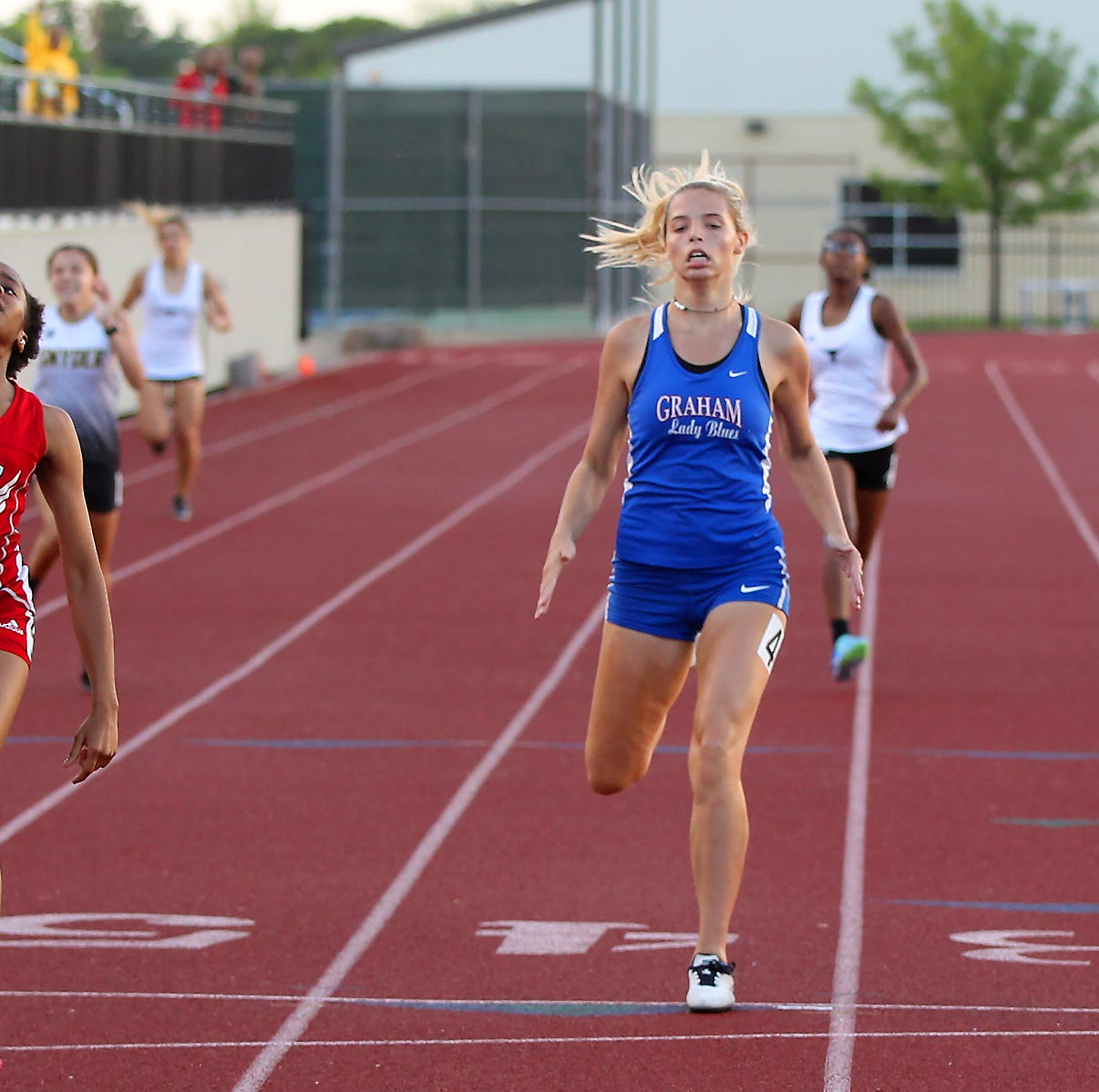 2019 Wichita Falls area regional track qualifiers