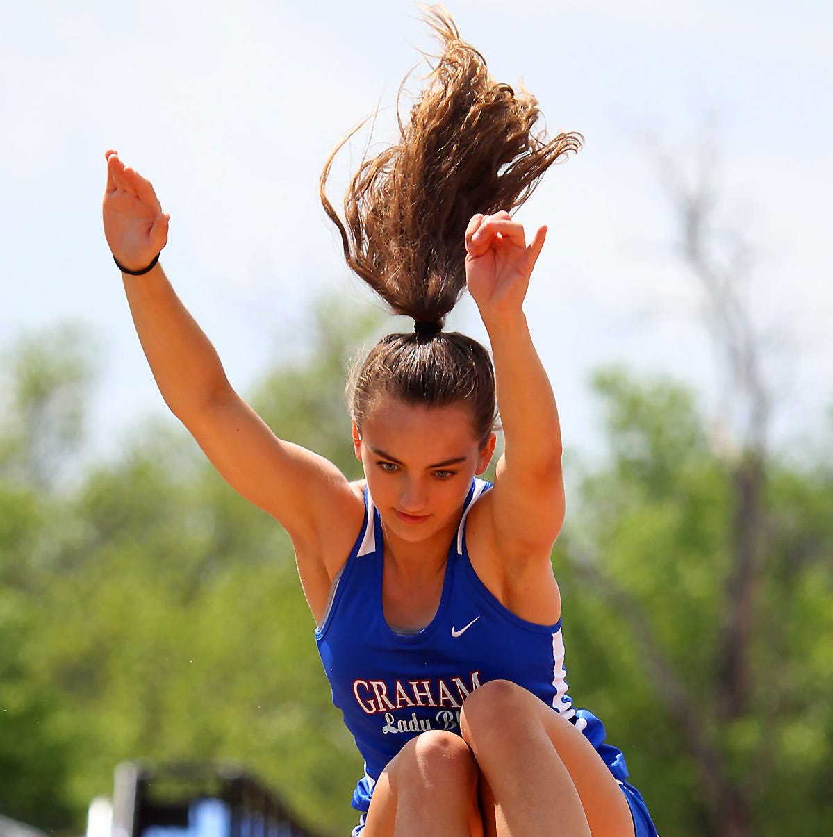 5/6-4A Track: Graham sweeps area titles; Burkburnett, Hirschi youngsters shine