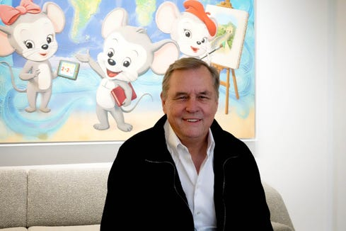 Doug Dohring is the CEO of Age of Learning, the company that makes the ABCMouse educational game.