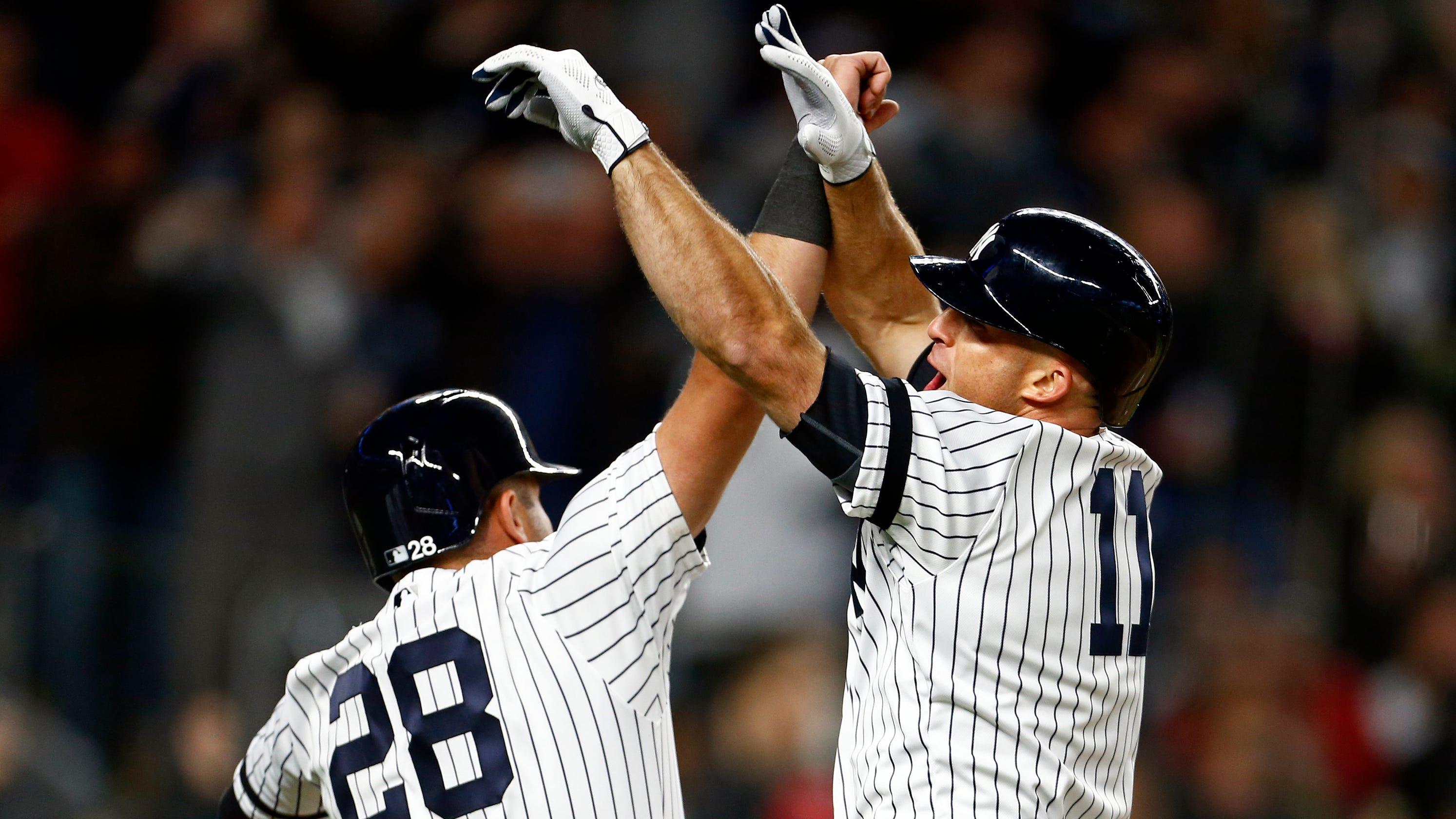 new concept 3e651 0b255 Brett Gardner grand slam lifts Yankees past Red Sox