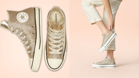 """From now until April 20, you can get an additional 30% off Converse sale items with the code """"SPRING30."""""""