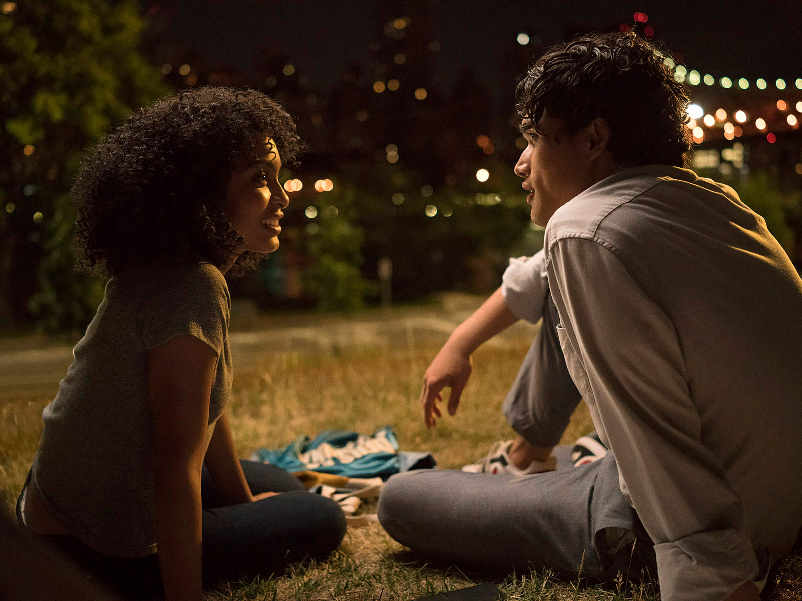 "Natasha (Yara Shahadi) and Daniel (Charles Melton) are strangers who fall for each other during one magical day, as she also fights to keep her Jamaican family from being deported, in the love story ""The Sun Is Also a Star."" (May 17)"