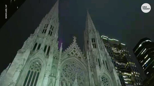 NYPD: New Jersey man arrested with gas cans at St. Patrick's Cathedral