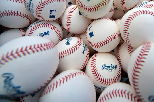 Major League Baseballs.