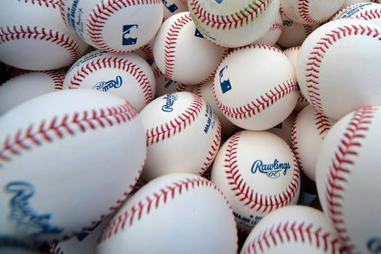 Major League Baseballs.