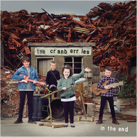 """In the End,"" the new album from The Cranberries."
