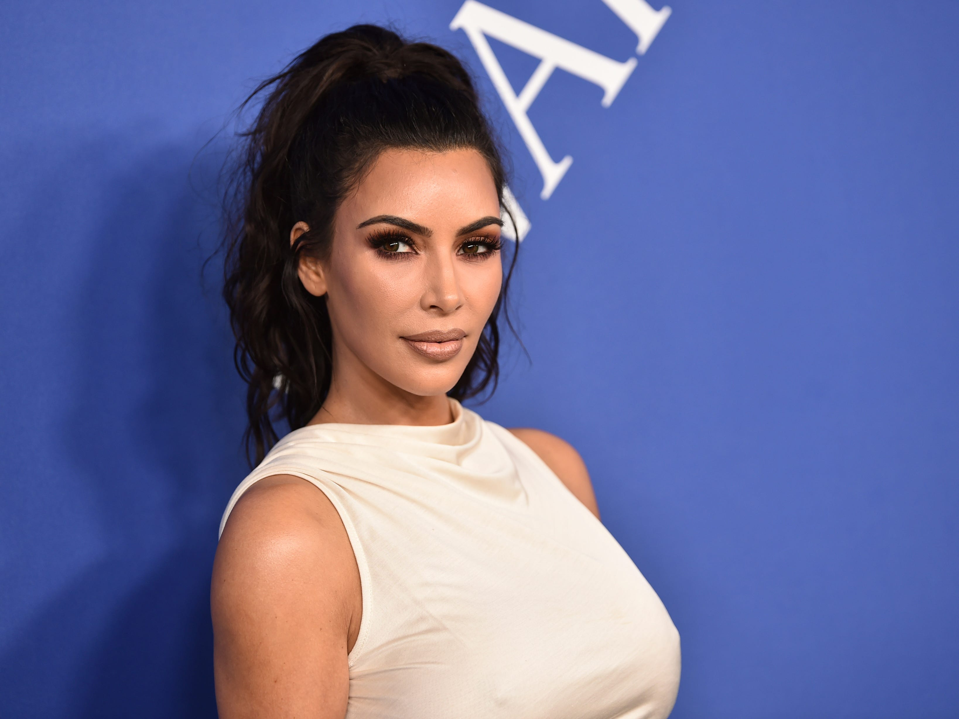 Kim Kardashian West arrives at the CFDA Fashion Awards at the Brooklyn Museum on Monday, June 4, 2018, in New York. (Photo by Evan Agostini/Invision/AP) ORG XMIT: NYPM173
