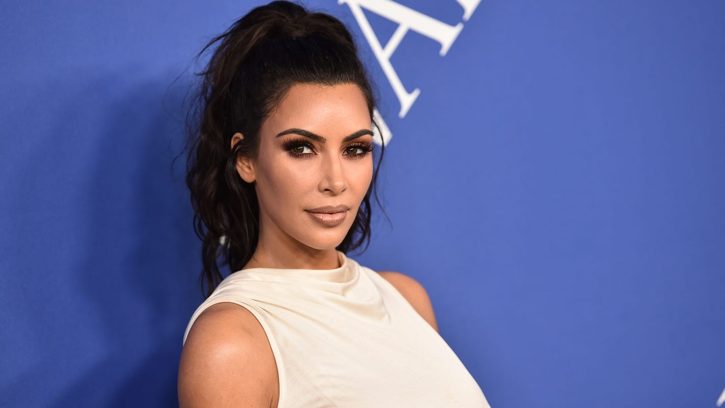 Kim Kardashian slays 'Tiger King' look, Halsey channels Tim Burton; more celeb Halloween costumes