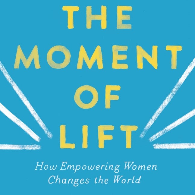 """""""The Moment of Lift,"""" by Melinda Gates"""