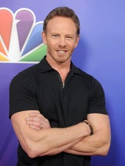 "Ian Ziering stars in ""Swamp Thing."""