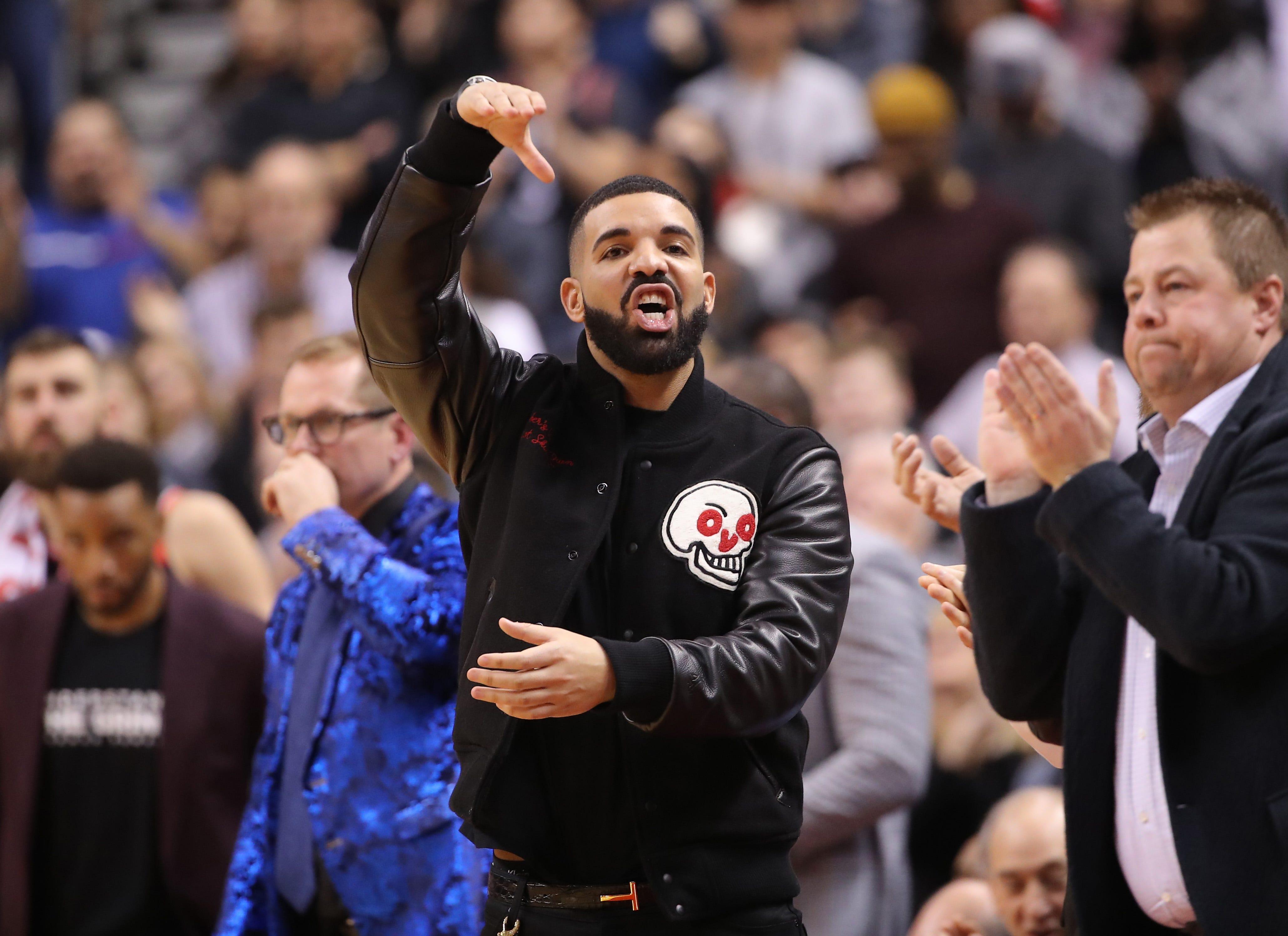 Drake 'curse' strikes again as Maple Leafs fall to Bruins in Game 4