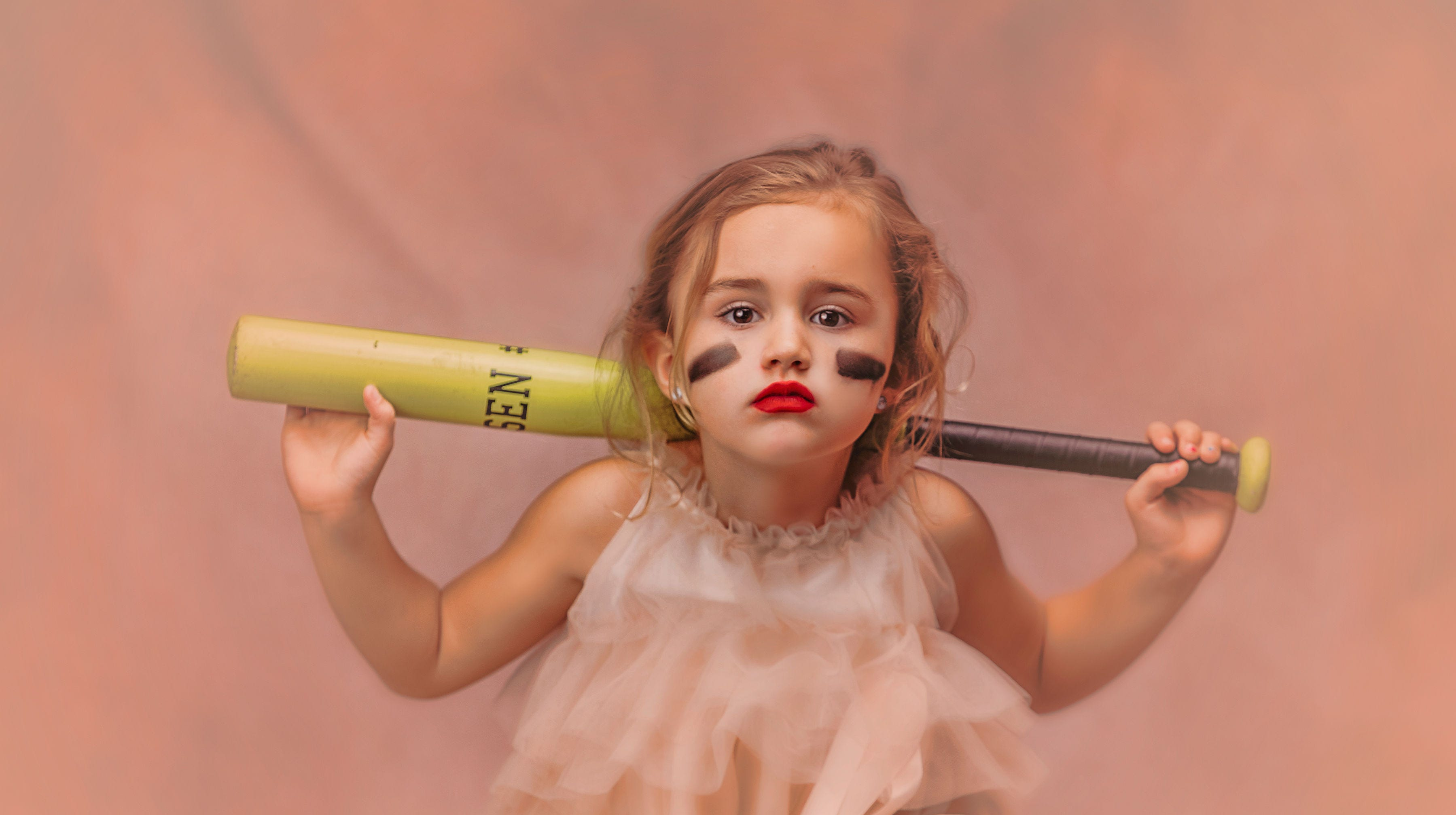 Mom's photo shoot says girls can be athletic and girly. 'Why does she have to choose?'