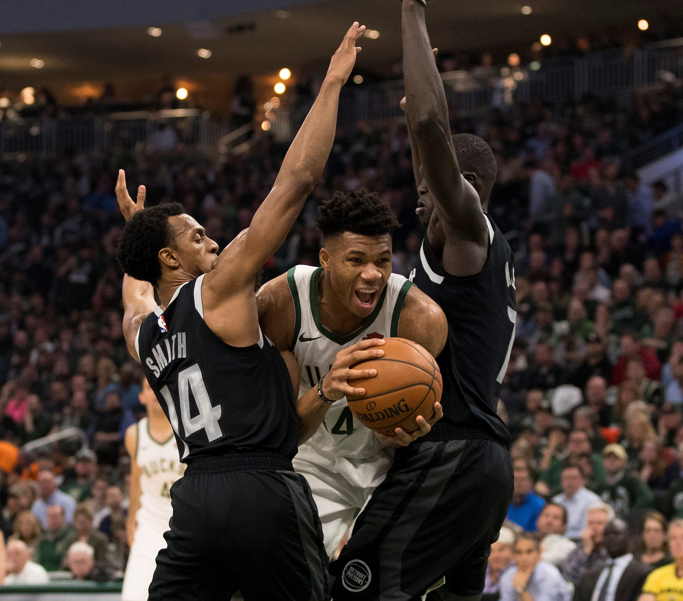Is going all-out on both ends of the court taking a toll on Giannis Antetokounmpo?