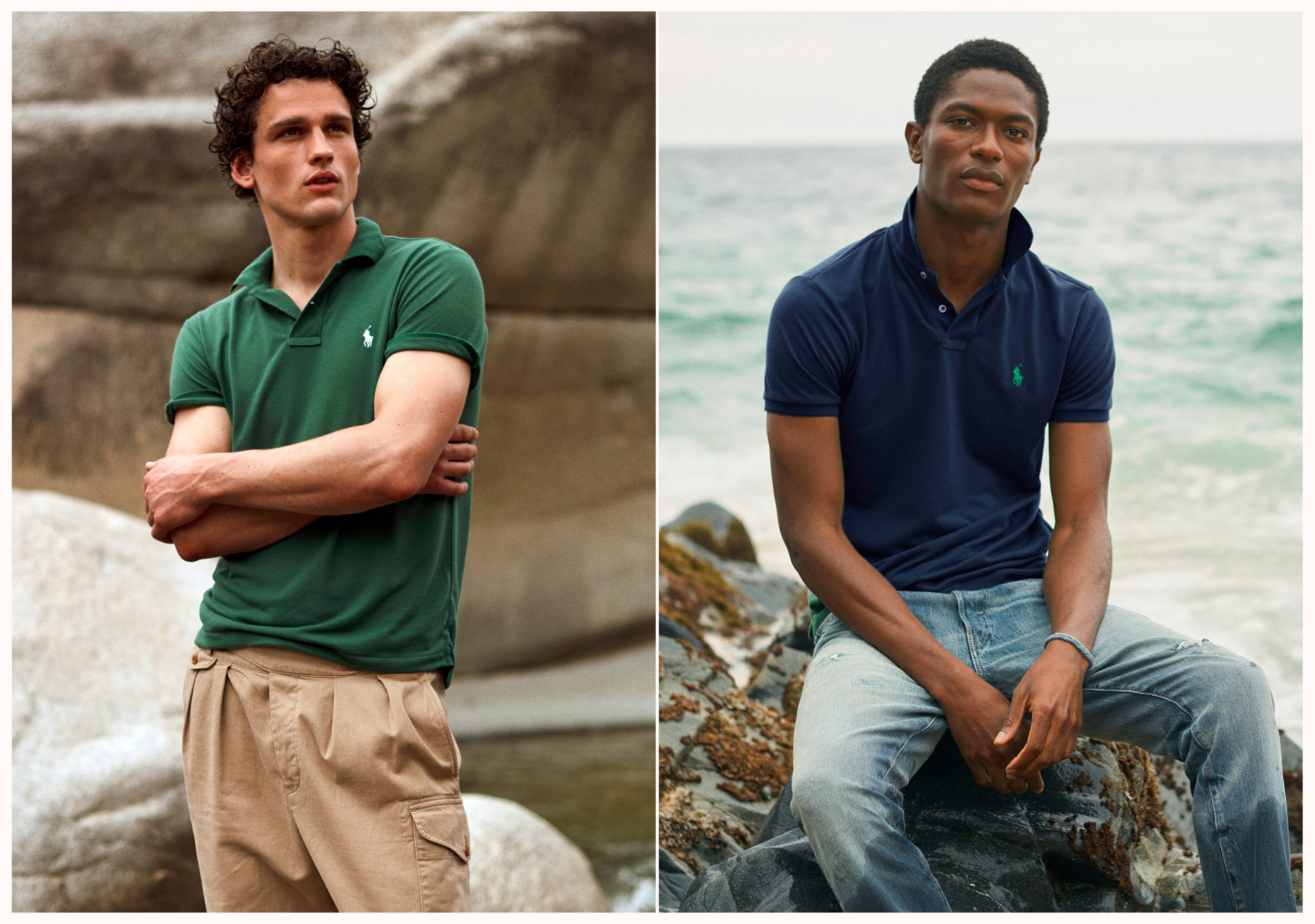 Ralph Lauren is now making polos out of recycled plastic bottles