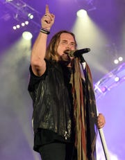 Lynyrd Skynyrd frontman Johnny Van Zant performing in hometown Jacksonville, Florida, last September.