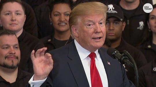 President Trump after Barr presser: 'I'm having a good day'