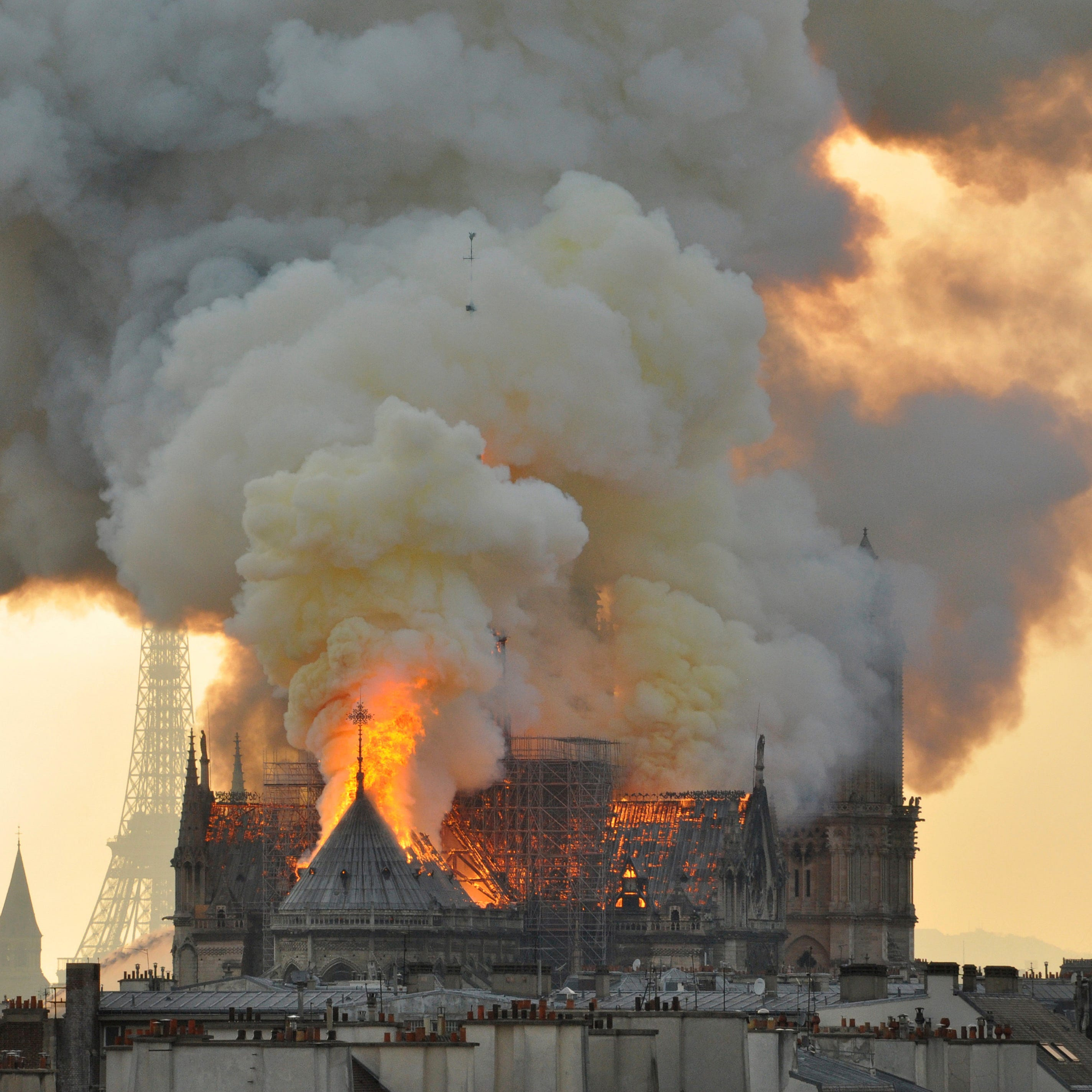 In Notre Dame fire, disaster strikes just in time for Easter message of resurrection