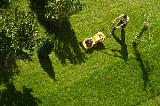 Experts say you should never trash grass clippings after mowing, because they contain valuable nutrients that will help your lawn stay healthy.
