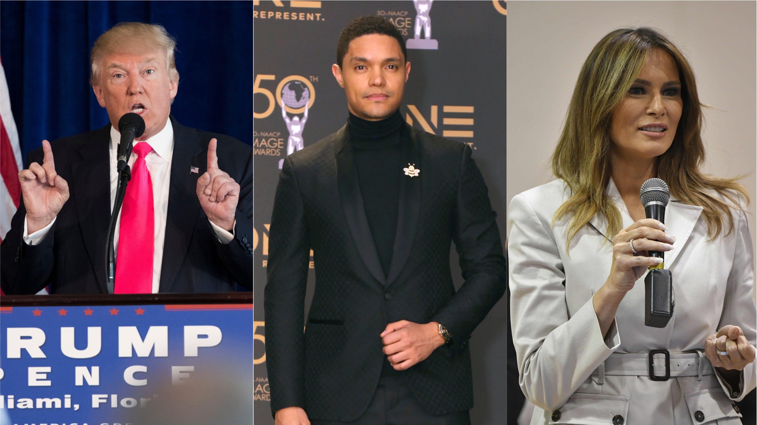 b3ade02d221 Melania Trump is Trevor Noah s new  dream  guest for  The Daily Show