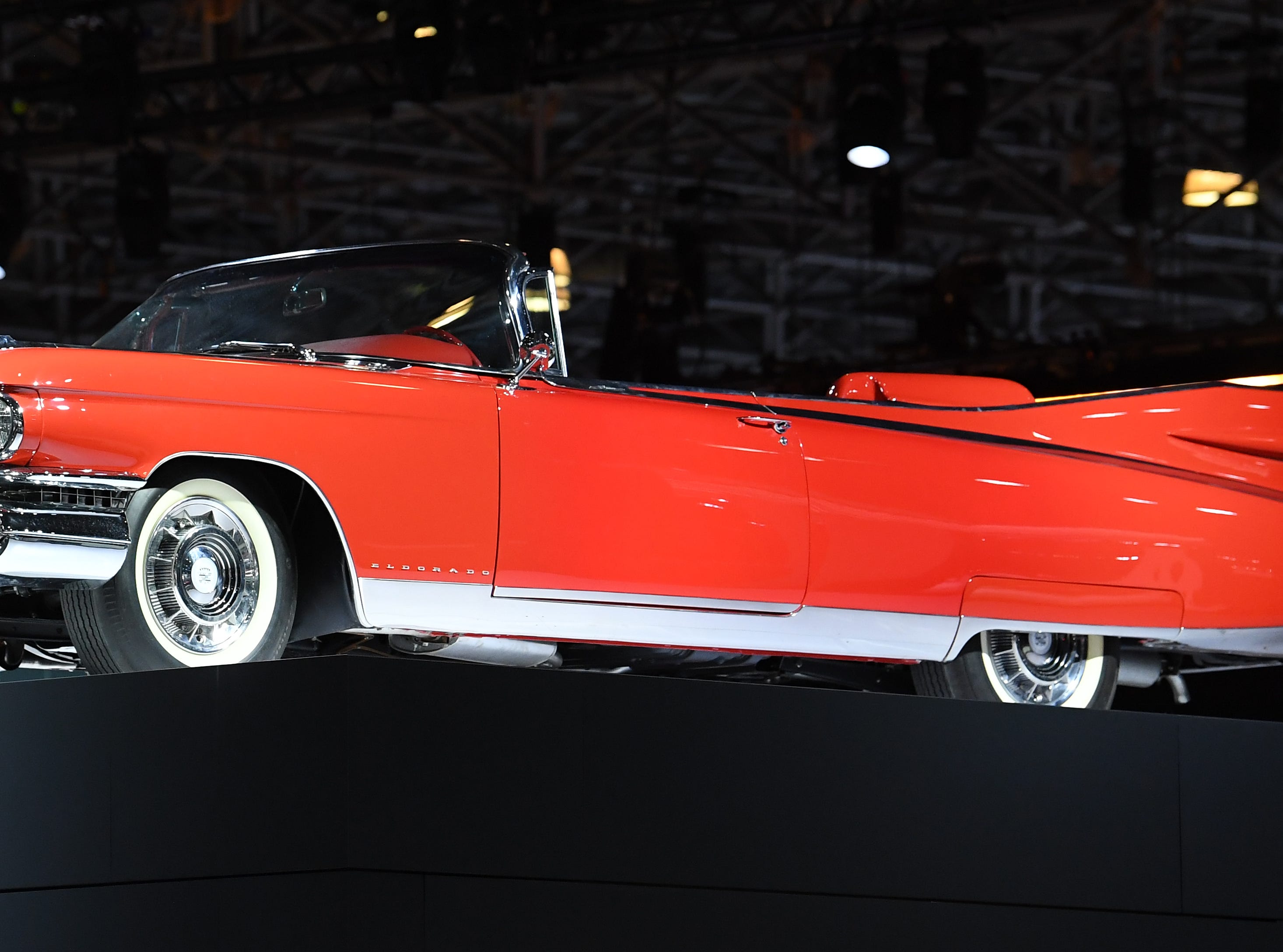 '59 Eldorado Biarritz Convertible on display at the New York International Auto Show.